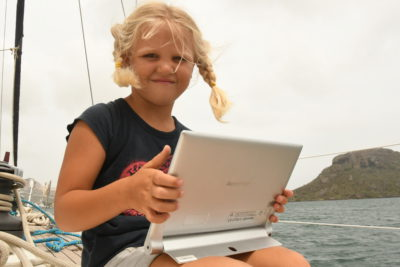 Lenovo Yoga Tablet at Sail for Good 22052017